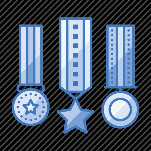 achievement, appraisal, award, badge, medal, prize icon