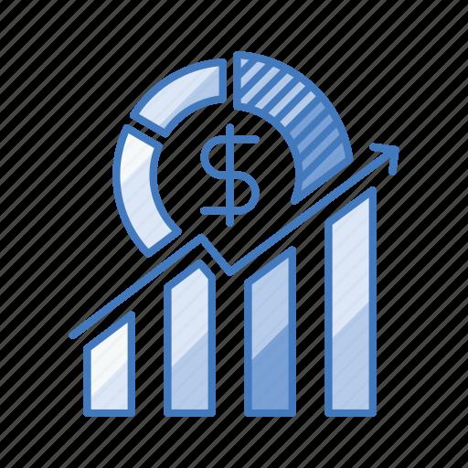 business, growth, hike, improvement, profit, rise, success icon