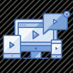 advertising, business, digital, marketing, media, social icon