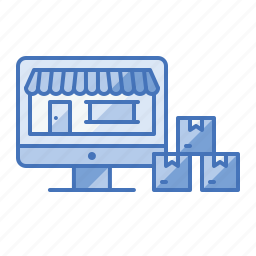 ecommerce, market, online, shop, shopping, store icon