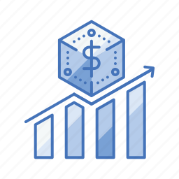 analysis, business, chart, financial, growth, profit icon