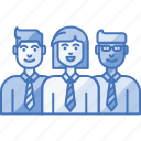 company, group, leader, people, team, workgroup icon