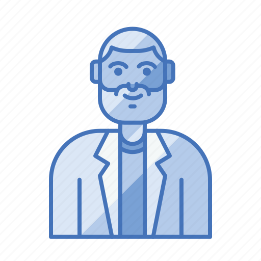 avatar, engineer, people, research icon