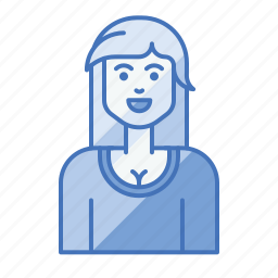 avatar, business, female, leader, manager, team icon