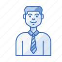 avatar, businessman, enthusiast, entrepreneur, male, startup icon