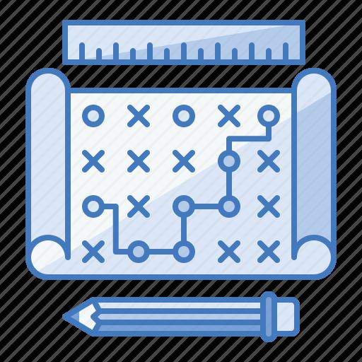 business, future, goal, plan, strategic, strategy icon