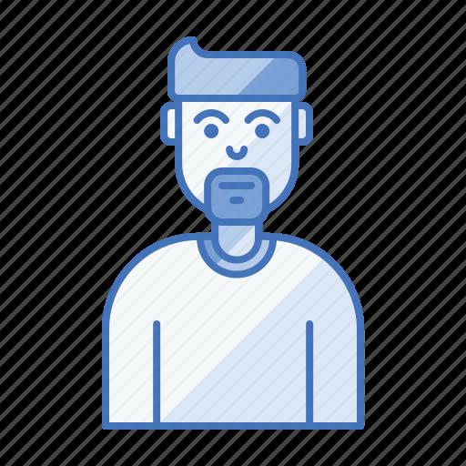 artist, avatar, designer, developer, end, front icon