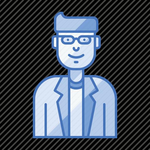 avatar, ceo, enthusiastic, entrepreneur, startup icon