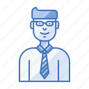 avatar, business, dealer, salesman, trader, tradesman icon