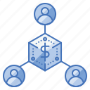 business, community, company, group, investor, relationship, structure icon