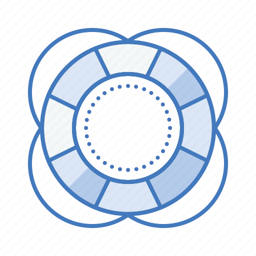 help, lifesaver, sos, support, tube icon