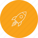 business, launch, launching, rocket, spaceship, start, startup icon