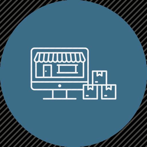 ecommerce, market, online, shop, shopping, store icon