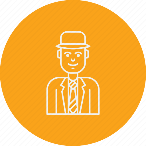 avatar, banker, broker, capitalist, financier, investor, venture icon
