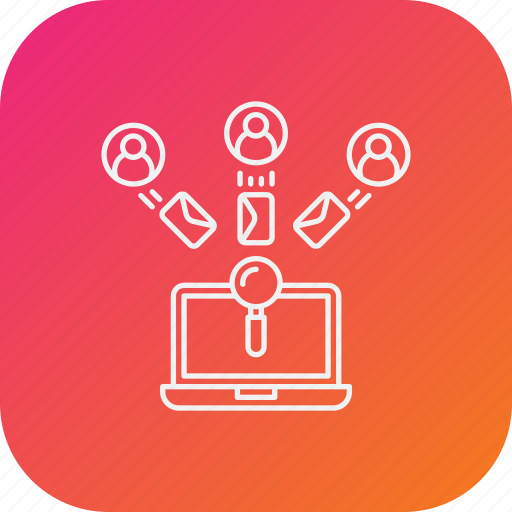 candidate, hiring, job, process, recruitment, search icon