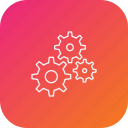 cog, gear, management, settings, team, work