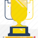 competition, cup, golden, leadership, race, trophy, winner icon