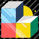 cube, idea, jigsaw, pieces, puzzle, solution, solve