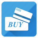 business, buy, card, cart, payment, shopping, swipe icon