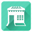 business, home, house, hut, shop icon