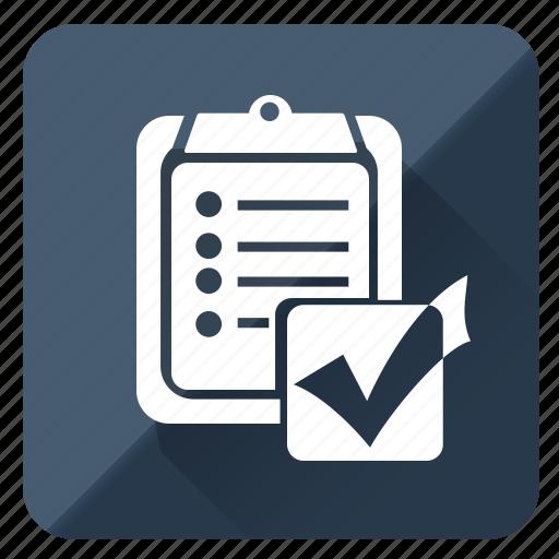 analytics, chart, check, qulity, report icon