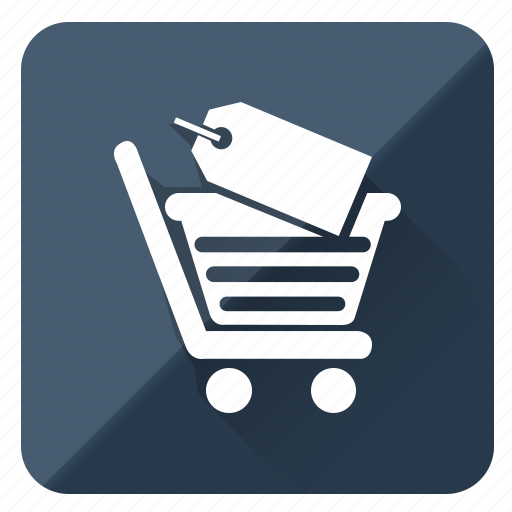 basket, business, buying, purchase, shoping, tag icon