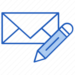 business, email, inbox, letter, message, office, write icon