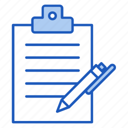 business, document, office, paper, write icon
