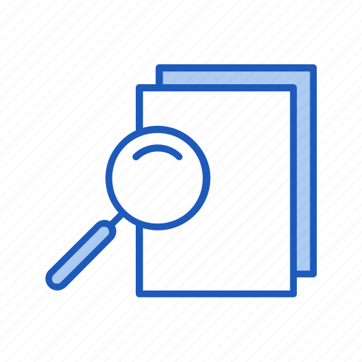 business, document, find, look, office, search icon