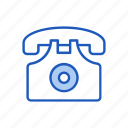 business, communication, contact, landline, office, telephone icon
