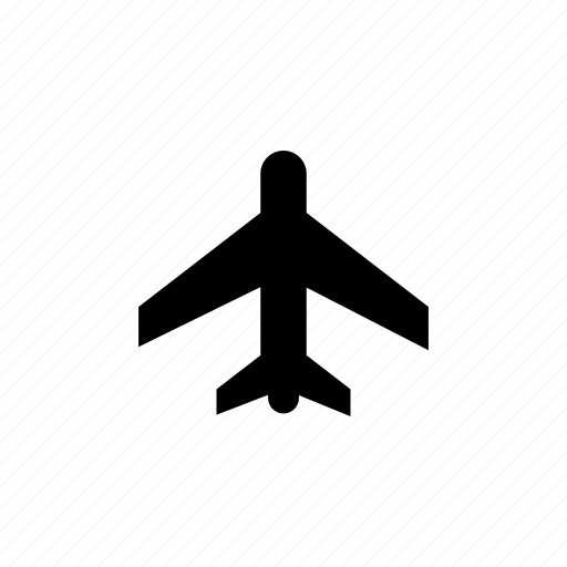 air port, aircraft, airline, airplane, airport, flight, plane icon