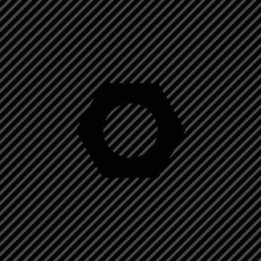 cogwheel, gearwheel, hole, mechanics, rackwheel, screw, wheel icon