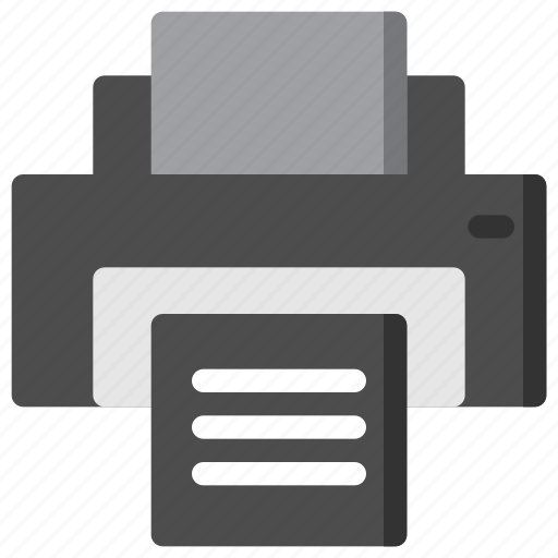 business, document, paper, print, printer icon