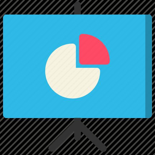 board, meeting, presentation, training icon