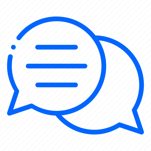 chat, chatting, communication, conversation, message, talk icon