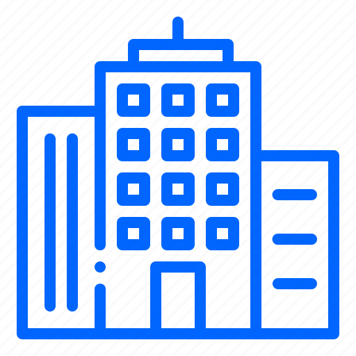 building, city, construction, office, skylin, urban icon