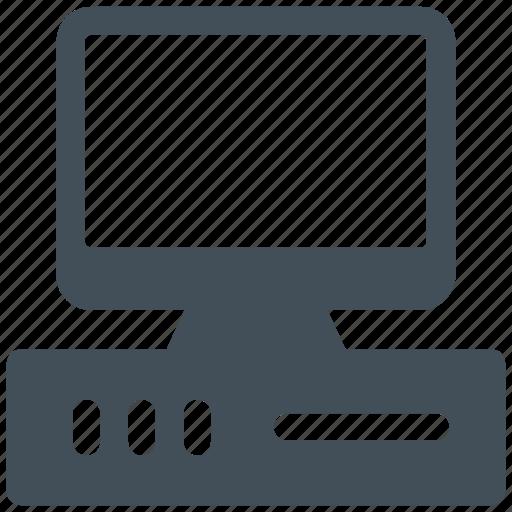 computer, desktop, electronics, monitor, pc icon icon
