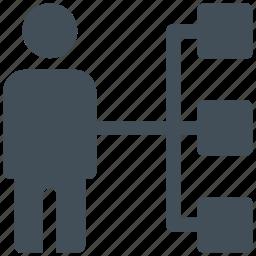 connection, team, teamwork icon icon