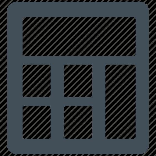 accountant, accounting, calculate, calculation, calculator, math, mathematics icon icon