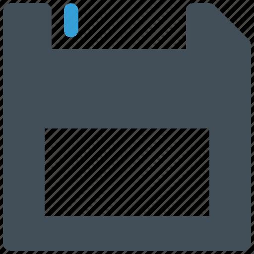 floppy, floppyfront, save icon icon