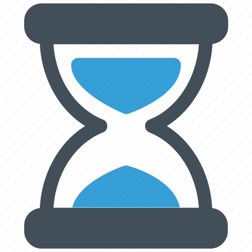 hourglass, time, timer icon icon