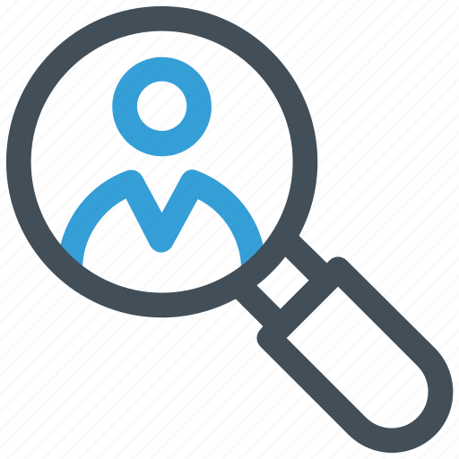 employee, looking, search job icon icon