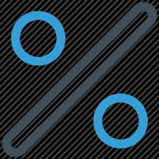 percent, percent sign, percentage, percentage sign, ratio icon icon