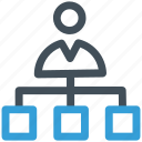 businessman, team, team leading, teamwork icon icon