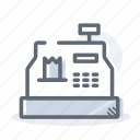 business, cash, finance, money, register icon