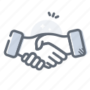 agreement, deal, finance, handshake, partnership icon