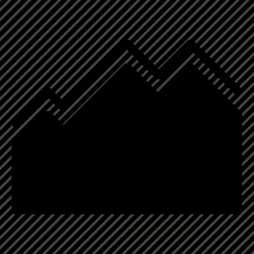 business, finance, graphic, statistics icon