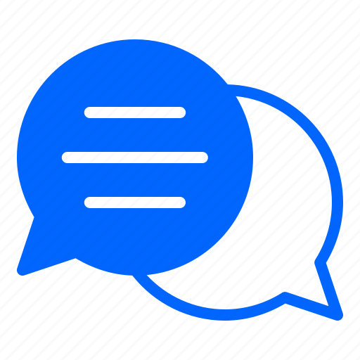 Chat, chatting, communication, conversation, message, talk icon - Download on Iconfinder