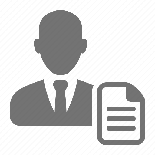 businessmen  cv  employee  job  profile  resume icon