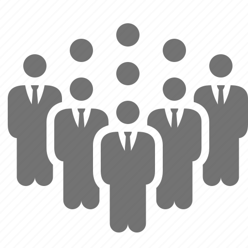 building, business, businessmen, company, group, people, team icon